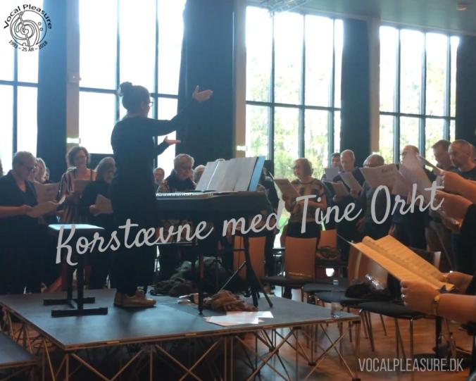 Korweekend og workshop med Tine Orht (Kor72) på Herning Gymnasium