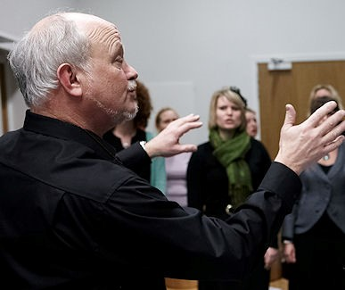 Niels dirigerede Vocal Pleasure